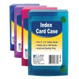 C-Line® Index Card Case, for 3 x 5 cards