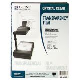C-Line® Transparency Film, Inkjet Printers, Box of 20