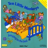 Classic Books-with-Holes Big Book, Ten Little Monkeys
