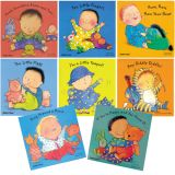 Nursery Rhyme Board Books, Set of 8 with CD