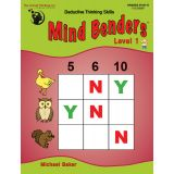 Mind Benders®, Book 1, Grades PreK-K