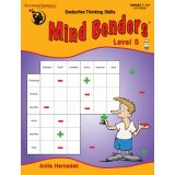 Mind Benders®, Book 5, Grades 7-12+