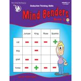 Mind Benders®, Book 6, Grades 7-12+