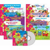 Sing Along & Read Along with Dr. Jean Readers Variety Pack & CD