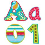 Designer Letters, Dots on Turquoise, 4