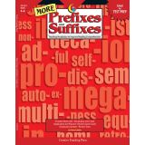 MORE Prefixes and Suffixes, Grades 4-8