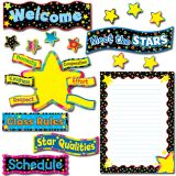 Back-to-School Stars Bulletin Board Set