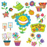 Spring Garden Bulletin Board Set