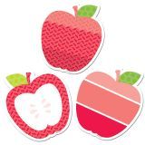 Designer Cut-Outs, Poppy Red Apples, 3