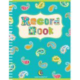 Dots on Turquoise Record Book