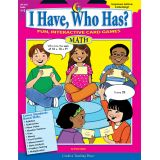 I Have, Who Has? Math, Grades 5-6