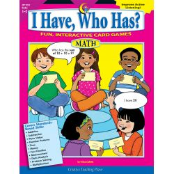 I Have, Who Has? Language Arts, Grades 3-4