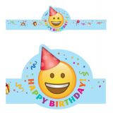 Emoji Fun Happy Birthday Crowns