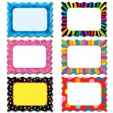 Designer Cut-Outs, Poppin' Patterns Cards, 6