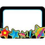 Poppin' Patterns Stars Name Tags