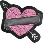 Designer Cut-Outs, Chalk Hearts