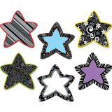 Designer Cut-Outs, BW Stars, 6