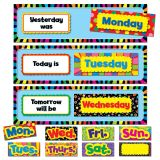 Poppin' Patterns® Days of the Week Mini Bulletin Board Set