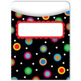 Standard Library Pockets, Dots on Black