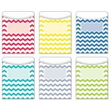 Jumbo Library Pockets, Chevron Solids