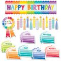 Painted Palette Happy Birthday Mini Bulletin Board Set