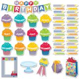 HexaFun Happy Birthday Mini Bulletin Board Set