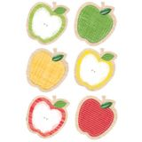 Upcycle Style 10 Designer Cut-Outs, Apples