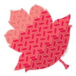 Designer Cut-Outs, Painted Palette Leaves, 3
