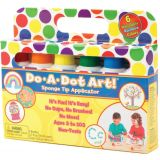 Do-A-Dot Art!® Markers, Rainbow Washable, 6 Pack