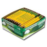Ticonderoga® Golf Pencils, Box of 72