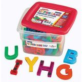 Jumbo Multi-Colored AlphaMagnets, Uppercase