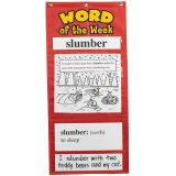 Word of the Week Pocket Chart, Grades 3-4