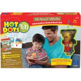 Hot Dots® Tots Interactive Board Book Set, All About Vehicles