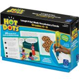 Hot Dots® Laugh It Up! Math Vocabulary Cards, Grades 4-6