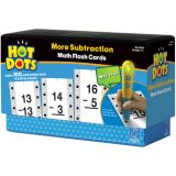 Hot Dots Flash Cards, More Subtraction