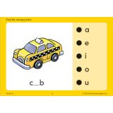 Hot Dots Phonics Program, Set 2: Consonants
