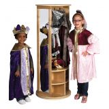 Round Locker/Dress Up Carousel