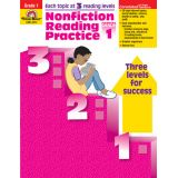 Nonfiction Reading Practice, Grade 1