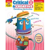 Critical & Creative Thinking Activities, Grade 6