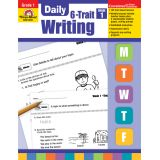 Daily 6-Trait Writing, Grade 1