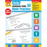 Daily Common Core Math Practice, Grade 1
