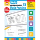 Daily Common Core Math Practice, Grade 5