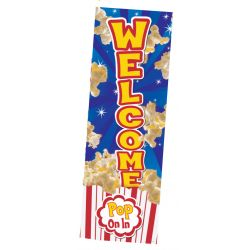 Popcorn Welcome Banner
