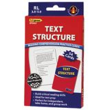 Text Structure Practice Cards, Reading Levels 3.5-5.0