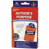 Author's Purpose Practice Cards, Reading Levels 2.0-3.5