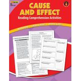 Cause and Effect Reading Comprehension Activities, Red Level