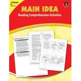 Main Idea Reading Comprehension Activities, Blue Level