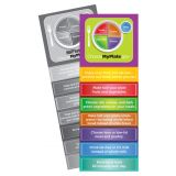 MyPlate Jumbo Bookmarks, Pack of 36