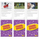Cause & Effect Practice Cards, Reading Levels 1.0-2.0