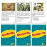 Sequencing Practice Cards, Reading Levels 1.0-2.0